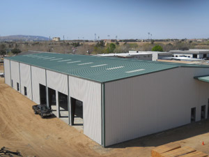 Commercial Pre-Fabricated Metal Buildings