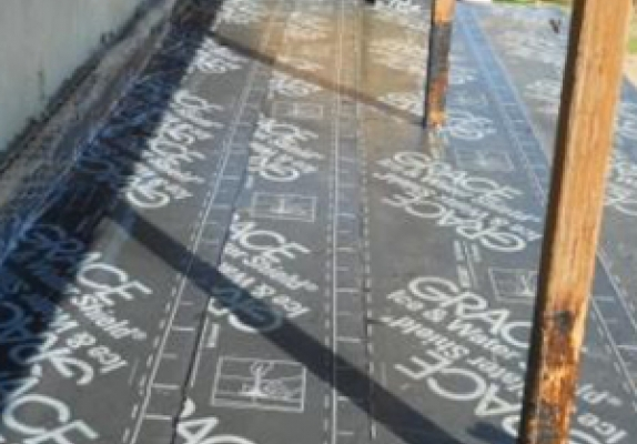 Below Grade Waterproofing Photo