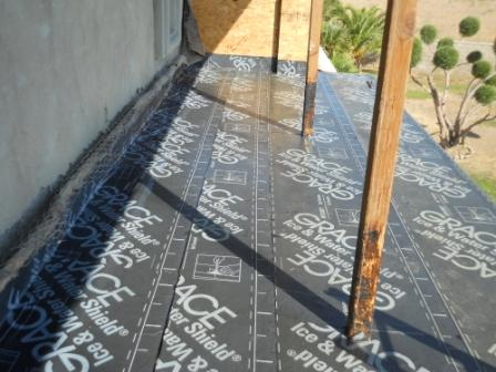 Commercial Below Grade Waterproofing applied on a flat surface