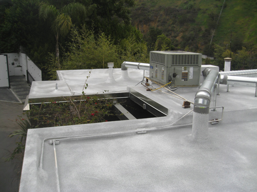 Residential Polyurethane Foam installed by Western Pacific Roofing