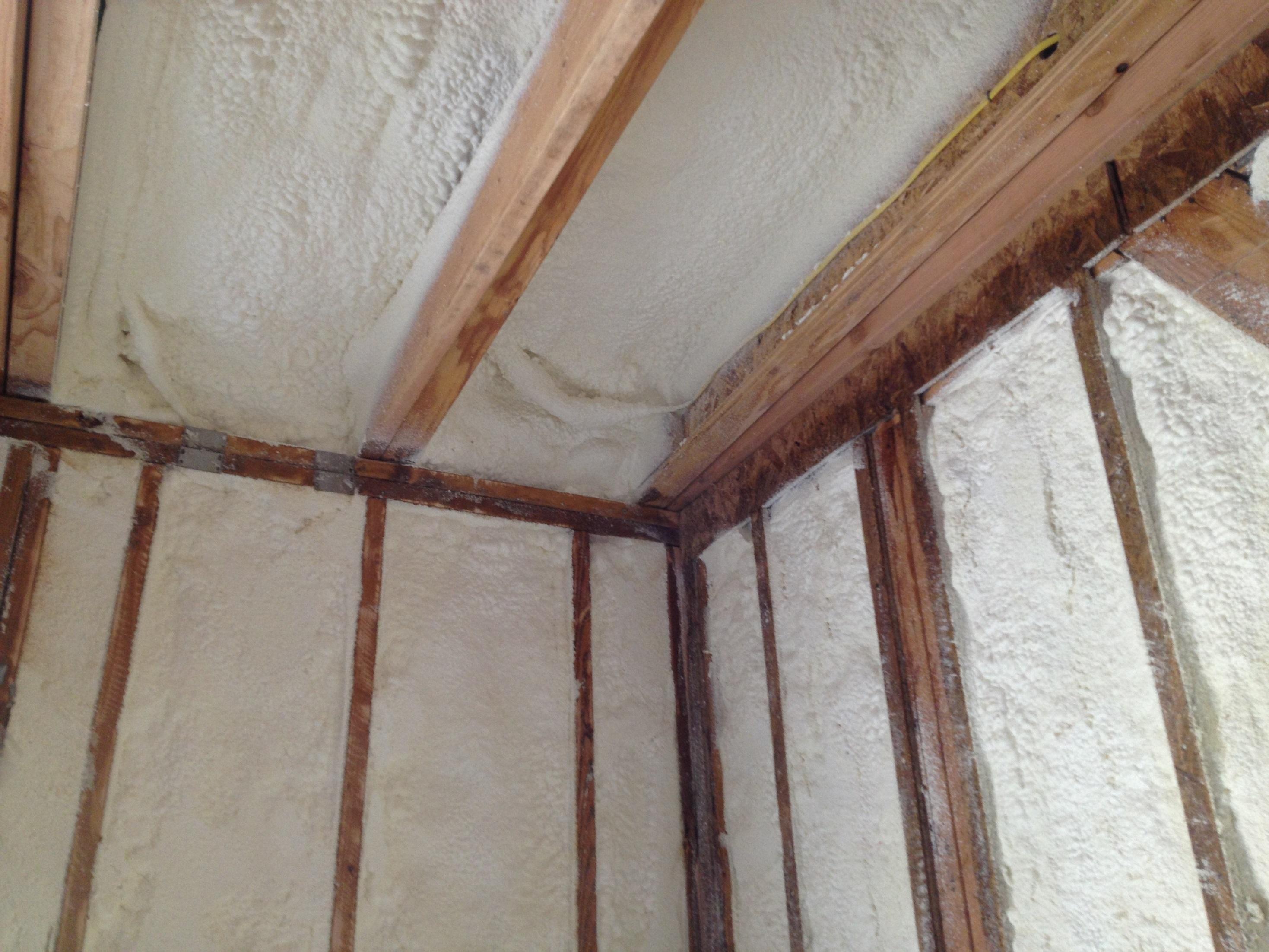 Spray Foam - Interior Spray Foam Insulation